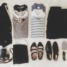 I don't care about packing...I like all these clothing items. :) hahaha