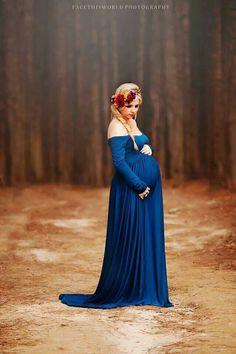 Maternity dress shoot