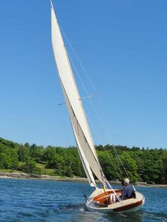 N.G. Herreshoff WATCH HILL 15 D. N. Hylan & Assoc. Boatbuilders   Brooklin, Maine