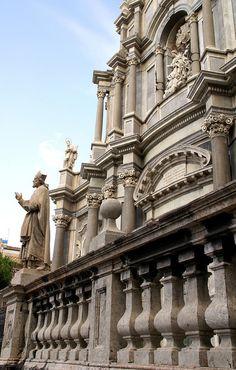 Catania, Piazza Duomo, Duomo di Sant'Agata, Fassade Sicily