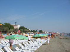The Romanian Black Sea resort of Mamaia in communist times was the mecca for holiday makers in the Eastern Bloc. It still is a popular tourist destination today as it boasts a good stretch of sandy beach, has many affordable hotels and in the summer, plenty of sunshine!