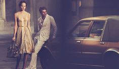 Peter Lindbergh and Tomas Maier create the Spring-Summer 2013 Campaign #TheArtOfCollaboration