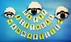 Cattle and Cupcakes Shaun The Sheep Birthday Party