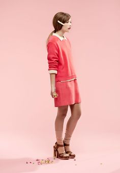 Teresa by Saskia Wilson for Fashion Gone Rogue.. so pinky, cute yet quirky