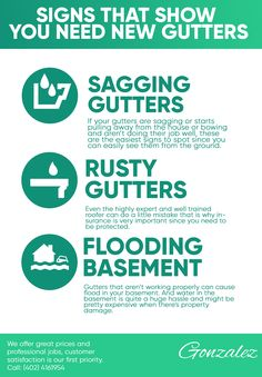 Signs that Show you Need New Gutters Home Improvement, Signs, Shop Signs, Home Improvements, Sign, Interior Design, Home Improvement Projects, Home Remodeling