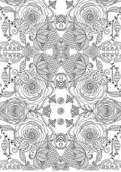 Pattern design flower power