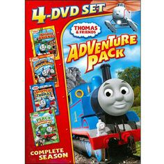 Thomas & Friends: 4-DVD Set Adventure Pack - Railway Friends / High Speed Adventures / Team Up With Thomas / Percy And The Bandstand (Full Frame) $19.96