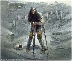 Túrin is one of the only characters in the Middle-earth legendarium to have committed suicide and several of the others are connected to his story. (by john howe)
