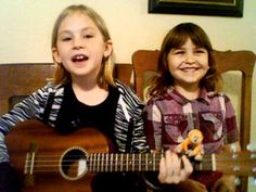 small by jj heller ukulele cover by 9 and 6 year old sisters Mandi and Olivia. These girls are adorable!