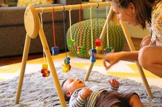 DIY wooden baby gym....for my next wee wittle one!