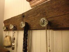 Knobs and barn wood