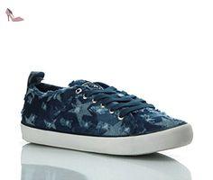 Guess , Baskets pour femme bleu Denim - bleu - Denim, 38 EU EU - Chaussures guess (*Partner-Link)