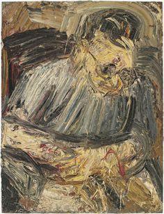 Portrait of Phillip, No 1, 1962, Leon Kossoff