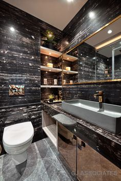 The Contemporary Design Style Apartment Interiors Gj Associates - The Architects Diary Grey Wall Decor, Wall Decor Quotes, Black Decor, Wc Design, Toilet Design, Front Design, Apartment Interior, Apartment Design, Contemporary Design