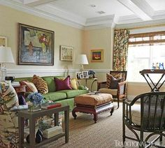 Dazzling Hamptons Showhouse   Traditional Home Master Sitting Room by Stephen Mooney