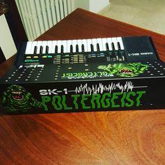 Scusate la tamarraggine... #casio #casiosk1 #sk1 #circuitbent #circuitbending #bent #bending #stile #acasa #wip #poltergeist #mod #modular # synth #noise