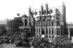 Photo of Bradford, The Children's Hospital 1897 Old Hospital, Childrens Hospital, Yorkshire England, West Yorkshire, Old Pictures, Old Photos, Bradford City, Victorian Architecture, The Old Days