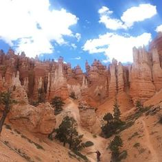 Our Editor in Chief, Arabella Bowen, visited Utah and captured this view from among the many, many hoodoos in Bryce Canyon's magnificent Queen's Garden.