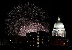 Madison, WI fireworks