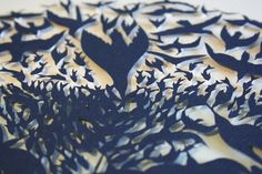 Sarah Dennis: These paper cutting prints are amazing.