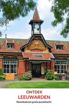 Maak een gratis puzzeltocht langs de mooiste bezienswaardigheden van de Friese hoofdstad Leeuwarden / Ljouwert (Culturele hoofdstad van Europa in 2018).