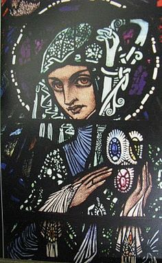 Harry Clarke's stained glass