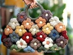 molly flower bag...no pattern but it shouldn't be hard to do...