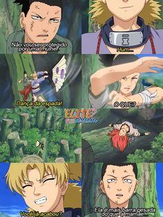 Anime Naruto, Naruto Sasuke Sakura, Naruto Funny, Manga Anime, Shikamaru E Temari, Naruto Shippuden Sasuke, Madara Uchiha, Anime Meme, Otaku Meme