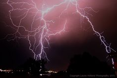 Amazing lightning strike from Billings, MT 6/12/13