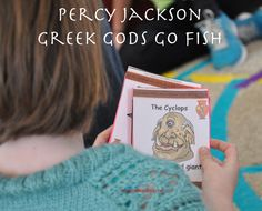 A Book-Themed Percy Jackson Birthday Party Ã'Â« Imagination Soup Fun Learning and Play Activities for Kidspercy party