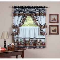 We researched 12 first-class naturally home mason jars kitchen curtain cottage set products over the latter year. Uncover which naturally home mason jars kitchen curtain cottage set matches you. Farmhouse Kitchen Curtains, Kitchen Window Curtains, Kitchen Curtain Sets, Home Decor Kitchen, Kitchen Ideas, Nice Kitchen, Design Kitchen, Kitchen Inspiration, Mason Jars
