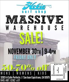 Insane Hobie Warehouse Sale Today