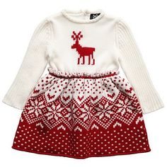 Wintery fairisle from Dolce & Gabbana baby