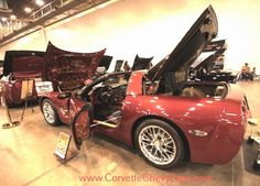 2001 Chevrolet Corvette show car owned by Tony Fluellen at the Corvette Chevy Expo in Texas. #CorvetteChevyExpo CORVETTE CHEVY EXPO - Google+