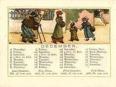 Almanack for 1887  - Page 12 - Kate Greenaway