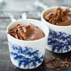 Chokolademousse med appelsinsmag