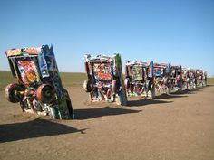 Cadillac Ranch – Amarillo, Texas | 27 Art Destinations Around The World To Visit Before You Die