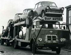 DAF A oldtime cartransporter