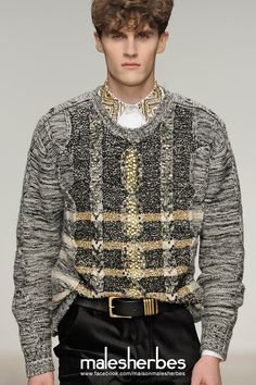 [ Fashion ] James Long AW2012 Please follow us on our FACKBOOK page, if you interested and also to know more about us and crochet, knitting, arts, fashion, movies and...
