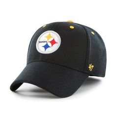 cheap for discount d932c 3379f Kickoff 47 Brand Contender Pittsburgh Steelers Fitted Hat
