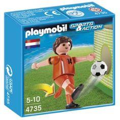 Joueur Équipe Pays-Bas #Euro2016 #Playmobil #Pays-Bas