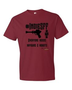 supporting Independent Science Fiction, Fantasy & Steampunk - Twitter & website #IndieSFF  http://www.outsidetheexosphere.biz/product/indiesff-rayguns-robots-short-sleeve-t/ #SPShow