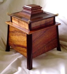 """Adding this to the """"Altered Cigar Box Project List"""". Note: add cut out a so I can add some lights inside. Cigar Box Projects, Diy Wood Projects, Small Wood Box, Small Boxes, Woodworking Box, Woodworking Projects, Box Maker, Bois Diy, Wooden Jewelry Boxes"""