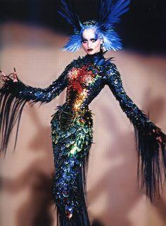 Thierry Mugler  fashion  haute couture  fall 1997