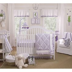 "Farallon Petit Tresor Papillon 4-Piece Crib Bedding Set - Petit Tresor - Babies ""R"" Us"