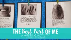 The Best Part of Me: A Writing Activity
