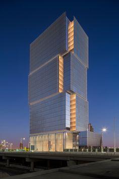 Al Hilal Bank Office Tower / Goettsch Partners / Abu Dhabi - United Arab Emirates