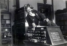 One of the original sexy librarians- 25 Vintage Photos of Librarians Being Awesome