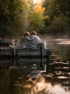 brothers (gone fishing) by Iwona Podlasińska - Photo 229740893 / 500px