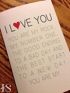 looking for a modern clean valentines card for your husband let him know what the word husband means to you with this simplistic card there is room